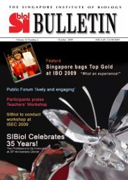 Volume 32 Number 2 - The Singapore Institute of Biology