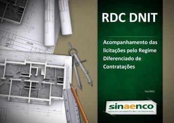 RDC DNIT - Sinaenco