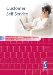 Customer Self Service - Irish Life