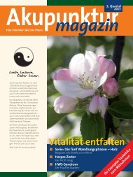 Akupunktur Magazin April 2013