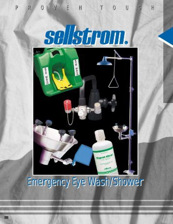 Emergency Eye Wash/Shower - Lenco Welding Accessories Ltd.