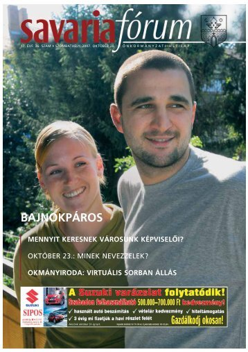 BAJNOKPÁROS - Savaria Fórum