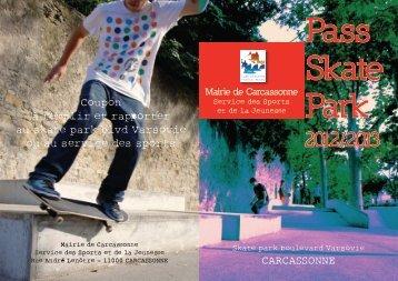 carte Pass Skate - Carcassonne