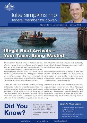 February 2012 - Liberal Party of Australia   WA Division