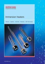 Immersion heaters - Heat & Plumb