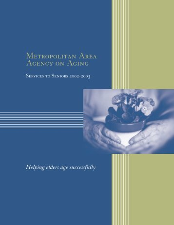 2002-2003 - Metropolitan Area Agency on Aging