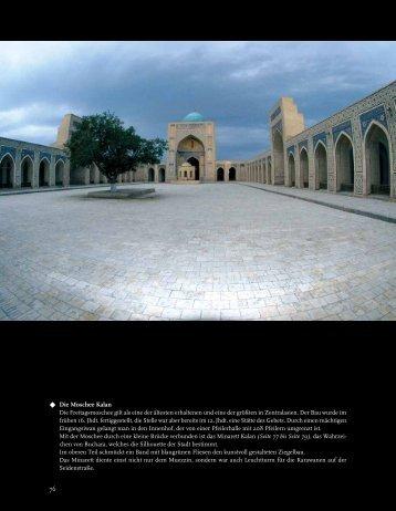 Seidenstraße – Von Taschkent nach Samarkand, Buchara und Chiwa