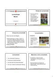 Lernwerkstatt Medien - Kindergarten und Schule in Südtirol