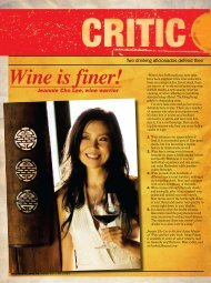 Wine is finer! - Asian Palate