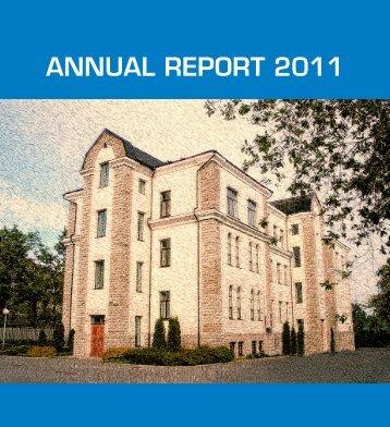 ANNUAL REPORT 2011 - Politsei