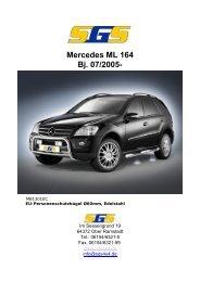 Mercedes ML 164 Bj. 07/2005- - SGS