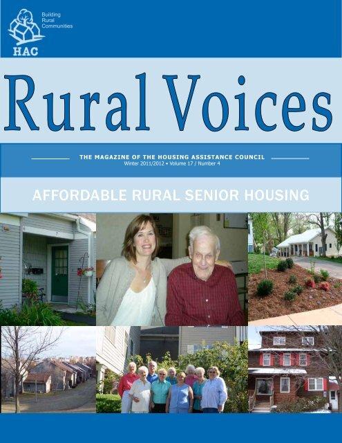 affordable rural senior housing - Housing Assistance Council