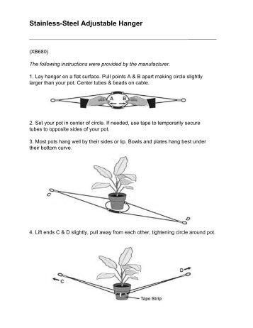 Lee Valley Tools - Stainless-Steel Adjustable Hanger