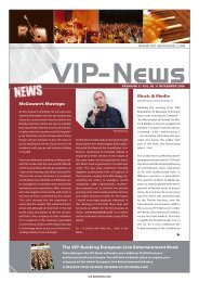 VIP newsletter November.indd - VIP-Booking