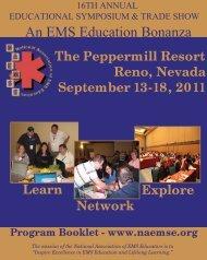 NAEMSE Program Book