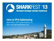 Introduction to IPv6 Addressing - Sharkfest - Wireshark