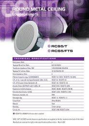 RCS5 /T - penton
