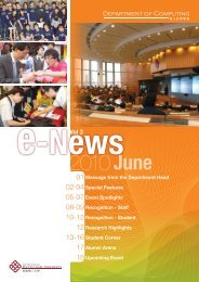 2010June - Department of Computing - The Hong Kong Polytechnic ...