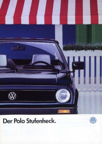 Derby II Polo Stufenheck - Volkswagen Classic
