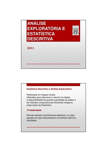 Slides Estatística Descritiva