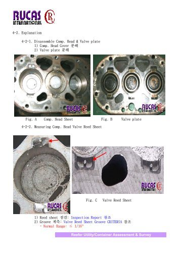 4-2. Explanation 4-2-1. Disassemble Comp. Head & Valve plate 1 ...
