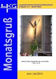 Monatsgruß Ausgabe Juni/Juli 2012 (PDF-Datei) - lkg-naila.de