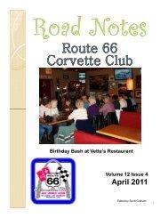 Road Notes Apr2011.pdf - Route 66 Corvette Club
