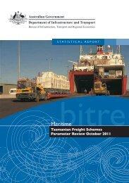 PDF: 1138 KB - Bureau of Infrastructure, Transport and Regional ...