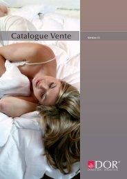 Catalogue de vente actuel DOR