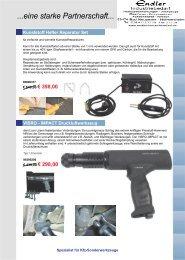 Kfz Sonderwerkzeuge 2012 - Endler Industriebedarf