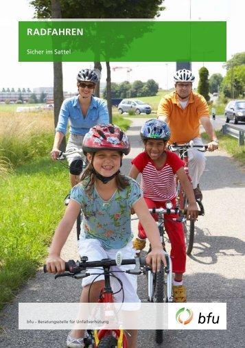 Radfahren - Sicher im Sattel - Bike2school