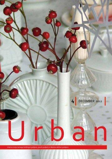 Urban december 2012 - Javni holding Ljubljana