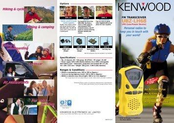 Open PDF (295.891KB) - Kenwood