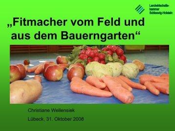 BNE Fitmacher - Lernen durch Erleben - Projekt: Schulklassen auf ...
