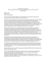 Protokoll 03. März 2005 - Arbeitsgruppe der Koordinator(inn)en in ...