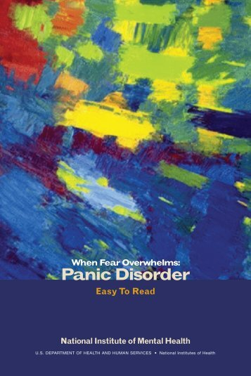 When Fear Overwhelms: Panic Disorder - State of New Jersey