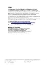 Riktlinjer för kommunala läkemedelsförråd - Landstinget i Värmland