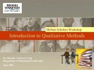 Introduction to Qualitative Methods