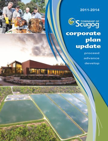 corporate plan update - the Township of Scugog