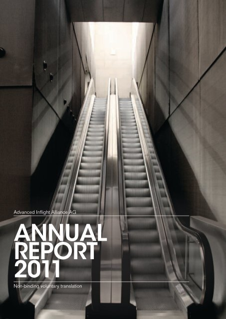 ANNUAL REPORT 2011 - Advanced Inflight Alliance AG