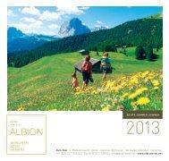 Listino prezzi 2013 da stampare - Hotel Albion