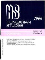 hungarian studies - EPA - Országos Széchényi Könyvtár