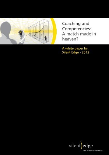 Coaching and Competencies: A match made in heaven? - Silent Edge