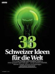 Öko Spezial - 33 Schweizer Ideen für die Welt - VortexPower