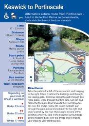 Keswick to Portinscale - Allerdale Borough Council
