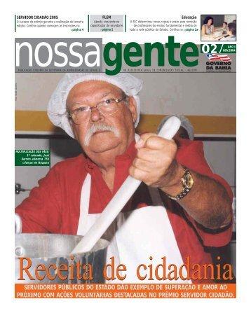 Novembro - Governo da Bahia