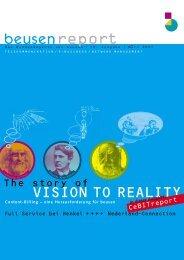 VISION TO REALITY beusenreport - Beusen nederland BV