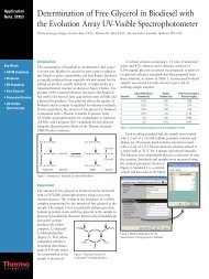 Analysis of Residual Solvents using GC/FID with Headspace