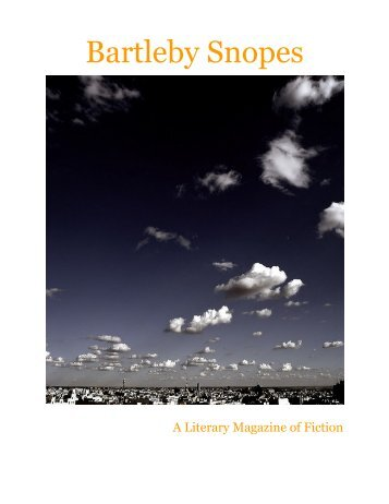 Issue 7 - Bartleby Snopes
