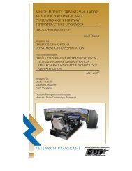 a high fidelity driving simulator as a tool for design and evaluation of ...